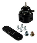AEM Universal Adjstable Fuel Pressure Regulator Black 25-302BK