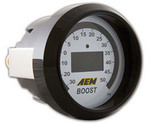 AEM Boost Digital Gauge -30 to 50psi 30-4408