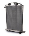 AFCO Street Rod Radiator '37 Ford Car 80142-S-NA-N