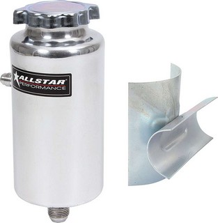ALLSTAR PERFORMANCE Power Steering Tank w/Bracket 36120