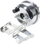 ALLSTAR PERFORMANCE Power Brake Booster 7in 55-64 GM Chrome 41008