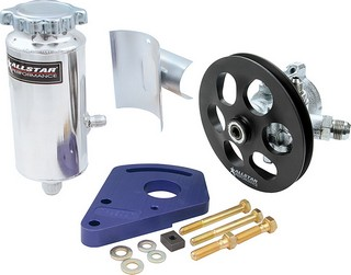 ALLSTAR PERFORMANCE Power Steering Kit Block Mount 48242