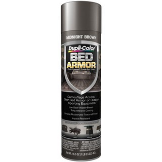 DUPLI-COLOR KRYLON Bed Armor - Aerosol Midnight Brown BAA2040