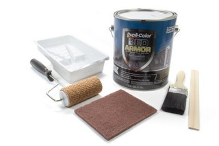 DUPLI-COLOR KRYLON Premium Trk Bed Coating Kit w/Kevlar BAK2010