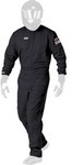 SIMPSON SAFETY SS Suit Double Layer Black Large 602311