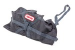 SIMPSON SAFETY Pilot Bag 10ft Black Air Boss 42046