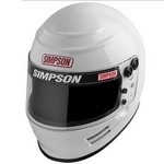 SIMPSON SAFETY Helmet New Voyager X- Large White SA2015 6100041