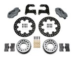 WILWOOD D/L Drag Rear Brake Kit Small Ford 2.66in 140-0262-BD