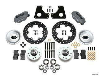 WILWOOD Dragster Front Kit MD 80-87 GM 140-1033-BD
