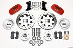 WILWOOD Front Disc Brake Kit Red 67-72 Camaro Nova 12.19 140-10510-DR