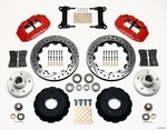 WILWOOD 67-72 GM C-10 P/U Front Brake Kit Red Caliper 140-10775-DR