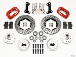 WILWOOD HD Front Brake Kit 67-72 Camaro/Nova Drilled 140-10996-DR