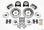 WILWOOD Front Disc Brake Kit Early Ford 37-48 Drilled 140-11013-DP