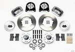 WILWOOD Front Disc Brake Kit Early Ford 37-48 140-11013-P