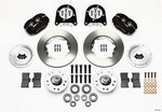WILWOOD HD Front Brake Kit 37-48 Ford-Billet 140-11013