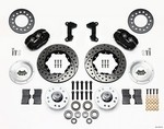 WILWOOD Front Disc Brake Kit Mustang II/Pinto 140-11017-D