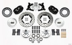 WILWOOD HD Front Brake Kit 62-72 A Body Drum Spindle 140-11022-D