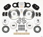 WILWOOD Front Disc Brake Kit 65-69 Mustang 140-11071