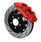 WILWOOD 16-17 Camaro Front Brake Kit AERO6 140-14288-DR