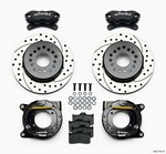 WILWOOD Rear Disc Brake Kit w/Park Brake Chevy 140-7141-D