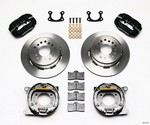 WILWOOD FDL P/S Park Brake Kit Small Ford 2.66in Offset 140-7143