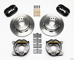 WILWOOD Disc Brake Kit w/PB 8.8 Ford 5 Lug 140-7146