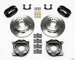 WILWOOD P/S Park Brake Kit Small Ford 2.50in 140-9282
