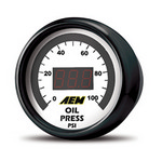 AEM Oil/Fuel Pressure Digitl Gauge 0-100psi 30-4401
