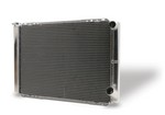 AFCO GM Radiator 19in x 28in Dual Pass 80130NDP
