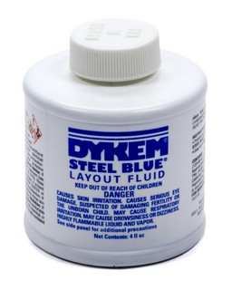 ALLSTAR PERFORMANCE Dykem Layout Fluid 4oz Brush in Cap 12070