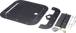 ALLSTAR PERFORMANCE Access Panel Kit Black 6in x 6in 18540