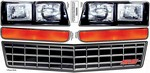 ALLSTAR PERFORMANCE M/C SS Nose Decal Kit Stock Grille 1983-88 23014