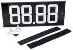 ALLSTAR PERFORMANCE Dial-In Board 4 Digit w/ Suction Cups and Velcro 23293