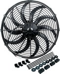ALLSTAR PERFORMANCE Electric Fan 16in Curved Blade w/ Hardware 30077