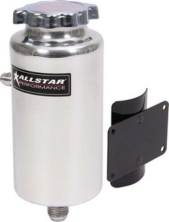 ALLSTAR PERFORMANCE Power Steering Tank with Flat Mount 36132