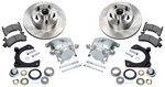 ALLSTAR PERFORMANCE Disc Brake Kit Mustang II 5 on 4.5in BC 42024
