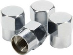 ALLSTAR PERFORMANCE Hex Head Valve Stem Caps 4pk 44053