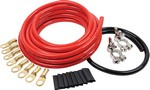 ALLSTAR PERFORMANCE Battery Cable Kit 2 Gauge 1 Battery 76110