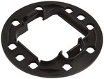 ALLSTAR PERFORMANCE HEI Wire Retainer Black  81213