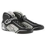 ALPINESTARS USA Tech 1-T Shoe Black / Silver Size 12 2710115-119-12
