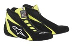 ALPINESTARS USA SP Shoe Blk /Fluo Yellow Size 10 2710618-155-10