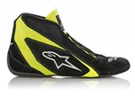 ALPINESTARS USA SP Shoe Blk /Fluo Yellow Size 12 2710618-155-12
