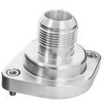 BILLET SPECIALTIES LS Thermostat Housing w/ 16AN Male Nipple Anodizd 90900