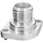 BILLET SPECIALTIES LS Thermostat Housing w/ 20AN Male Nipple Anodizd 90920