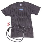 COOL SHIRT Cool Shirt Large Black  1012-2042