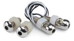 DESIGN ENGINEERING Lite'n Boltz License Plate Bolts Pair White 30301
