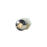 DESIGN ENGINEERING Lighted Button Head Bolt Pair White 30303