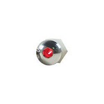 DESIGN ENGINEERING Lighted Button Head Bolt Pair Red 30304