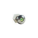 DESIGN ENGINEERING Lighted Button Head Bolt Pair Green 30306