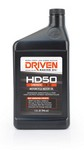DRIVEN RACING OIL HD50 15w50 Motorcycle Oil 1 Qt Bottle 2706